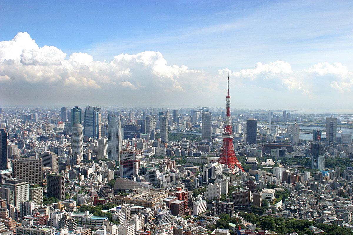 東京タワーが見える風景